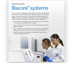 Biacore system selection guide (2)