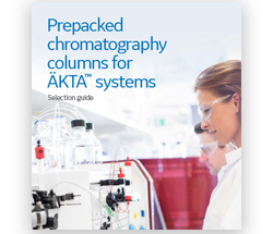 Prepacked chromatography columns for ÄKTA systems