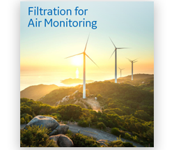 Filtration for air monitoring
